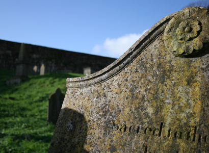 18th century headstone, St. Mary's Graveyard, Youghal, Co. Cork Louise M Harrington