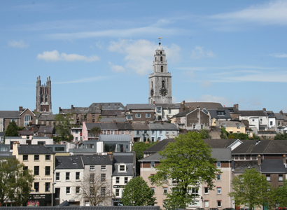 North Cathedral & Shandon Steeple, Pope's Quay, Cork - Louise M Harrington